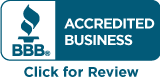 Atkins DTS is rated A+ by the Better Business Bureau.